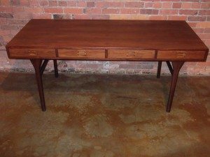 Rare rosewood four drawer executive desk by Nana Ditzel ,circa 1955 (SOLD)