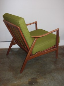 Quality Danish modern teak lounge chair,great condition,great lines (SOLD)
