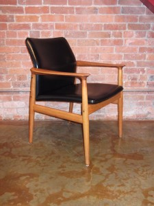 1950,s chair designed by Greta Jalk for Glostrup,Denmark,high quality craftsmanship $550