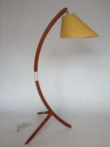 Mid-century Teak arc lamp,excellent vintage condition (SOLD)