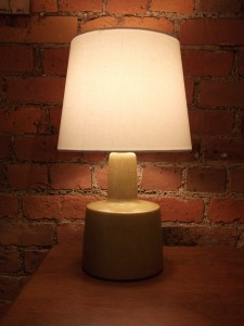 Gorgeous Mid-century modern Martz ceramic lamp  designed by Gordon and Jane Martz for Marshall Studios  USA  signed at base $200