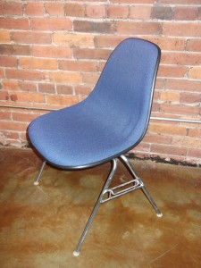 Vintage shell chair designed by Charles and Ray Eames for Herman Miller $200
