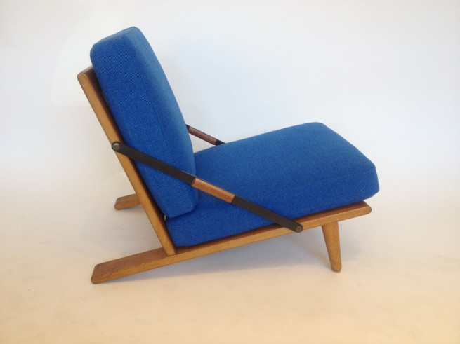 Rare low riding chair designed by Borge Mogensen (SOLD)
