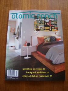 Summer is coming to an end ,the good news is the fall issue of Atomic Ranch is in!! $6.95
