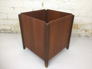1960's Paper Bin by Punch Designs - Montreal - perfect for your Mid-century office space or use it in your bathroom - many uses - (SOLD)