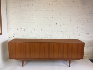 High quality 1960's sideboard by Clausen and Son, Denmark (SOLD)