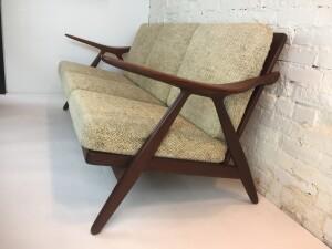 Mid-century Modern 3 seater sofa designed by Arne Hovmand Olsen - WOW (SOLD)
