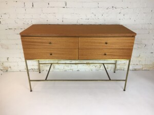 1950's newly refinished Paul McCobb entry piece as part of the Irwin Collection for Calvin Furniture - (SOLD)