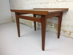 Finn Juhl solid teak side table (SOLD)