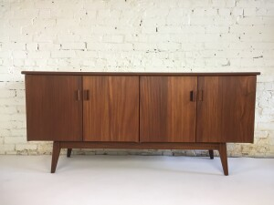 Gorgeous Mid-century Modern solid teak sideboard- designed by Jan Kupyers for Imperial - Canada -incredible quality - newly refinished - (SOLD)