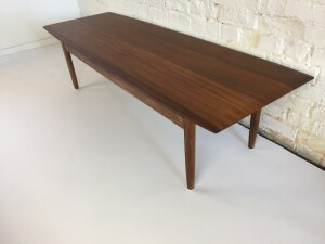 Gorgeous Mid-century Modern solid teak coffee table - designed by Jan Kupyers for Imperial - Canada - newly refinished and looks incredible - (SOLD)