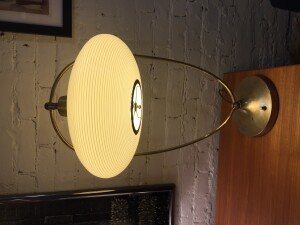 "Outrageously cool 1950's Space-age table lamp - incredibly unique - a statement piece for sure - good vintage condition - stands - 29""H x 16"" Wide - $400"