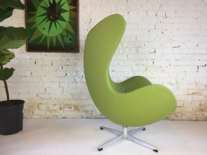 """The Iconic """"egg"""" chair designed by Arne Jacobsen for Fritz Hansen in 1959 - Denmark - this Original vintage chair has been re-upholstered in the last 10 years - a true collector's must have or really anyone that wants an original amazing Iconic chair at a price you just can't beat - oh yeah and it is comfortable - :)(SOLD)"""