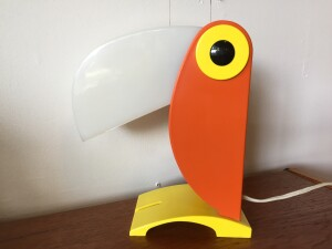 Vintage POP ART parrot - made in Italy - (SOLD)