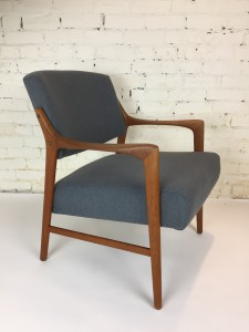 1960's Swedish teak arm chair designed by Inge Andersson completely restored (SOLD)