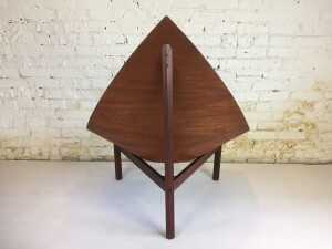 Exceptional Mid-century Modern bentwood diamond shape chair in excellent vintage condition -- this chair is a statement piece that demands some space - a true work of art -(SOLD)