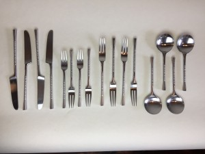 "Set of Gorgeous Danish flatware by Dansk ""Jette"" design - very nice vintage condition - 16 pieces - (SOLD)"