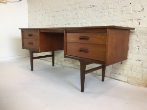 "Incredible Mid-century Modern Early 60's 3 drawer dresser designed by John Herbert for Younger Ltd as part of the Codan range - outstanding craftsmanship - solid wood door fronts - dovetails - sexy leg structure - a piece you pass down with pride - 67""L x 18.5""D x 26.5""H - (SOLD)"