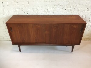 Vintage teak Arne Hovmand Olsen teak sideboard - as is - (SOLD)