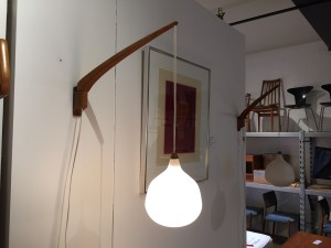 Pair of Wall lights by Uno & Östen Kristiansson, 1957 for Luxus Vittsjö, Sweden - SOLD