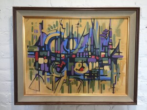 VIntage 1968 abstract painting (SOLD)