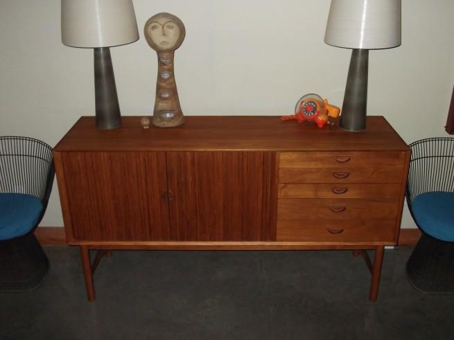 teak credenza, lotte lamps, mid-century modern, midcentury modern, furniture