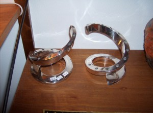 Fantastic pair of Dansk designs candle holders -(SOLD)
