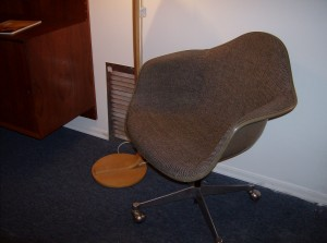 Original Vintage Eames office chair for Herman Miller w/original Alexander Girard fabric - (SOLD)