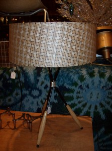 Fantastic Mid-century modern 1950's lamp by designer Gerald Thurston - (SOLD)