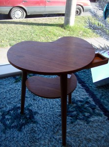 Fantastic Mid-century modern  Danishy 2 tier teak side table - (SOLD)