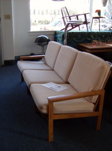 Stunning Mid-century modern teak 3 seater sofa - designed by Illum Wikkelso for N.Eillersen in 1959 - Super deal - (SOLD)
