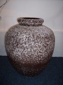 Unbelievable very large West German vase - a definate must have for a West German  pottery collector - (SOLD)