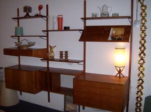 Fantastic Mid-century modern teak cado wall unit - (SOLD)