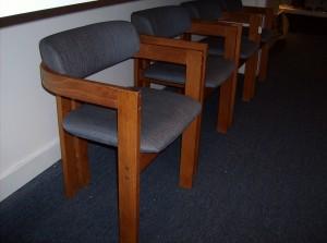 Fabulous set of 4 Danish teak dining chairs- (SOLD)