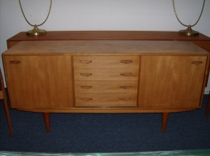 Super quality Danish teak sideboard manufactured by Clausen and Son's - circa 1960's - will add dimensions shortly - (SOLD)