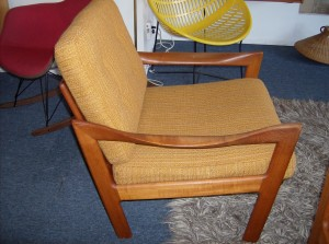 A Mid-century modern Danish gem - a must have for any lover/collector of Danish modern teak furniture - see it's matching sofa - (SOLD)