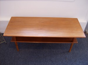 Fantastic 1960's teak 2 tier coffee table - condition is nice - it has the odd scratch on top- but nothing major - Only - (SOLD)