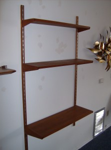 Incredible early sixties cado unit designed by Kai Christiansen - perfect for small spaces - (SOLD)
