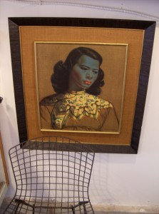 "Arguably the most well known of Tretchikoff's subjects ""Chinese Girl"" - beautifully double framed - in really excellent vintage condition - (SOLD)"