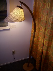 Incredible 1960's teak arc floor lamp in great condition - perfect for any Mid-century modern inspired home - (SOLD)