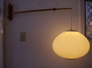 Unbelievable Mid-century modern wall light - they don&#039;t get too much better than this - (SOLD)