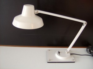 Super cute vintage metal Tensor adjustable desk lamp - fantastic condition - (SOLD)