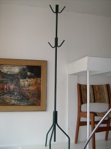 Wicked Wicked coat rack - locally made - material used - rebar - $145