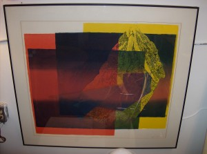 "Spectacular Serigraph by Artist Yves Vial - Born in 1954 in Lyon France - he moved to Canada in the 70's and settled in Victoria - Yves art is world renowned.  His work is exhibited in many private and public collections in North America, Europe, China and Japan - dated 1979 - they measure - 38"" X 34"" - (SOLD)"