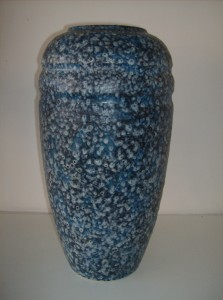"This is one spectacular West German vase - it stands 20"" tall - the condition is excellent and the coloring and texture is phenomenal - a definate must have for a collector - (SOLD)"