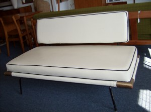 Early 1950's wroughiron loveseat by Canadian(Victoria) designer's Earle Morrison and Robin Bush - you don't come across these everyday - (SOLD)