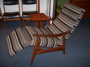 Incredible sleek 1960's teak lounge chair - yes it reclines.... and yes it is unbelievably comfortable...and yes it is in really nice condition - and yes it is super affordable - (SOLD)