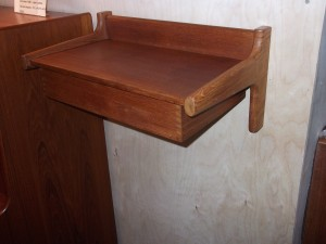 High quality Danish modern wall shelf manufactured in the 1960's $300