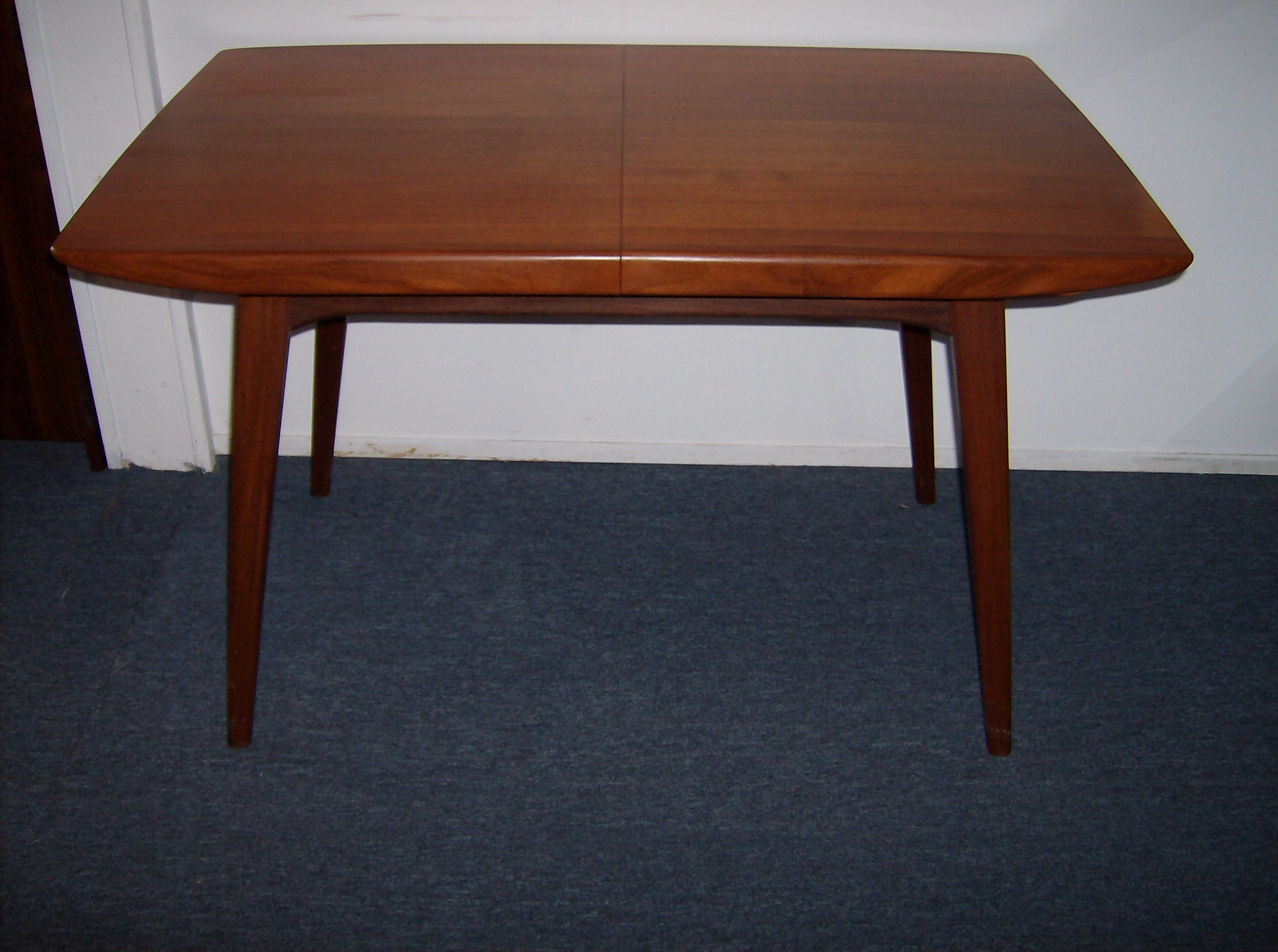 V Modern Furniture. Fantastically Unique Mid Century Modern Teak Dining  Table W/butterfly