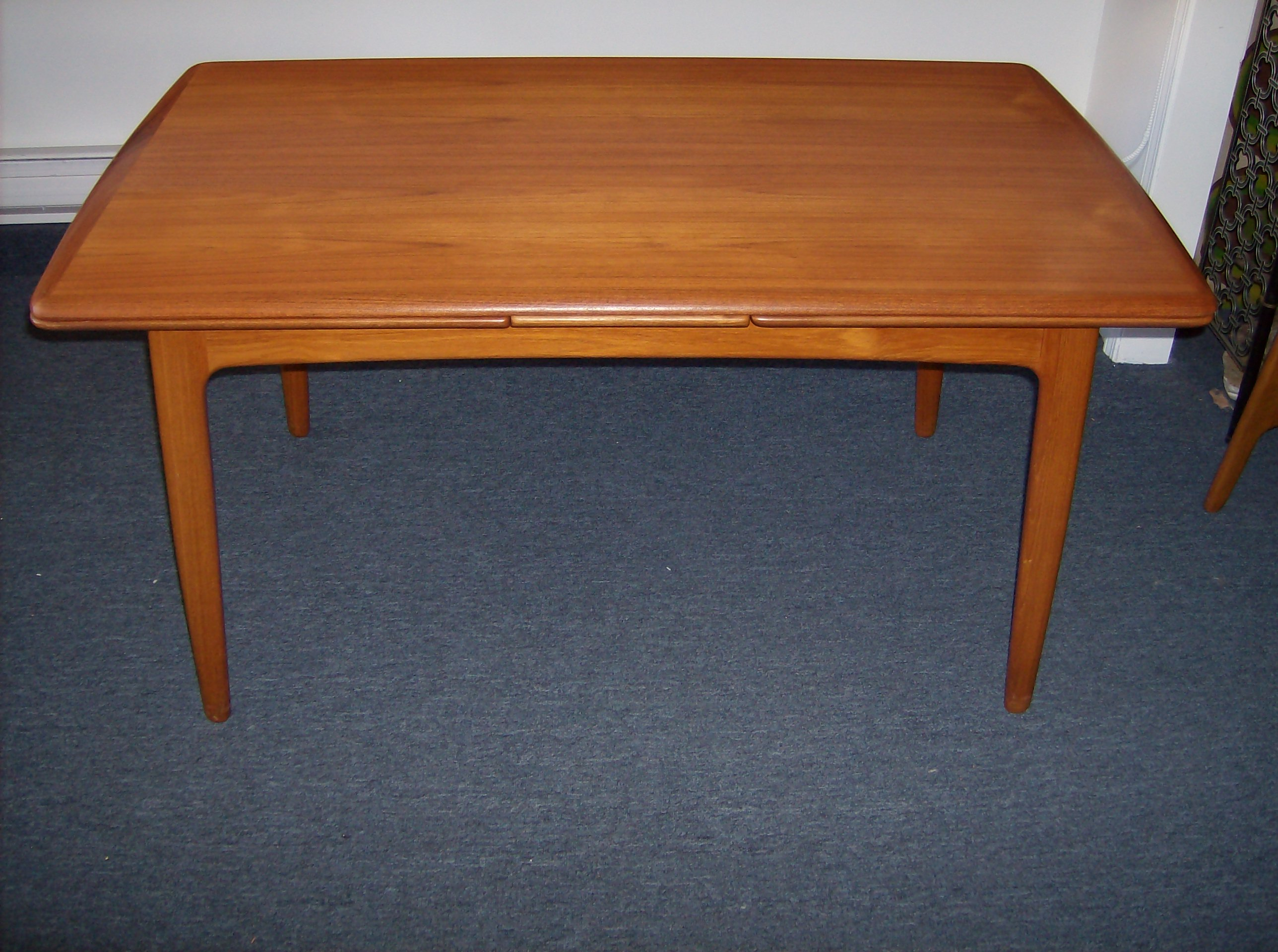 Gorgeous Danish Mid Century Teak Dining Table